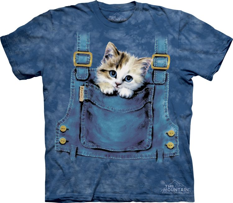 Kittens Selfie Kids T-Shirt by The Mountain Pet Animals Cats Youth NEW