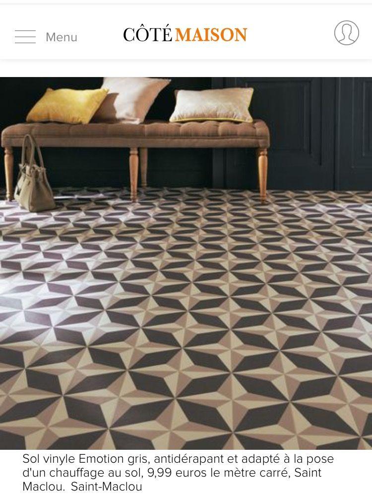 Épinglé par Pauline Anfray sur Salle de bain | Vinyl tiles, Vinyl ...