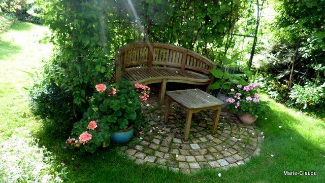 Coin Repos Ombrage Amenagement Jardin Jardins Amenagement