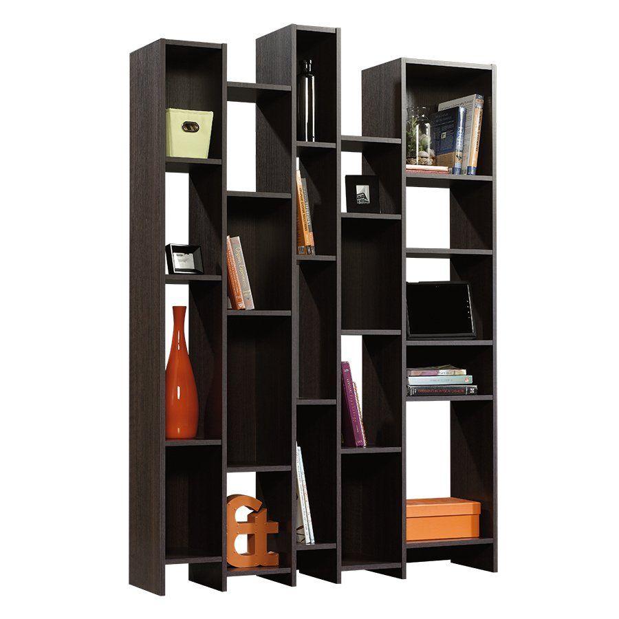 Sauder Misc Storage Dakota Oak 71 1 In 21 Shelf Bookcase At Lowe S Canada