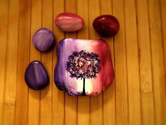 Gifts For Her Under 30 Birthday Desk Accessories Women Set Decor Paperweight Purple
