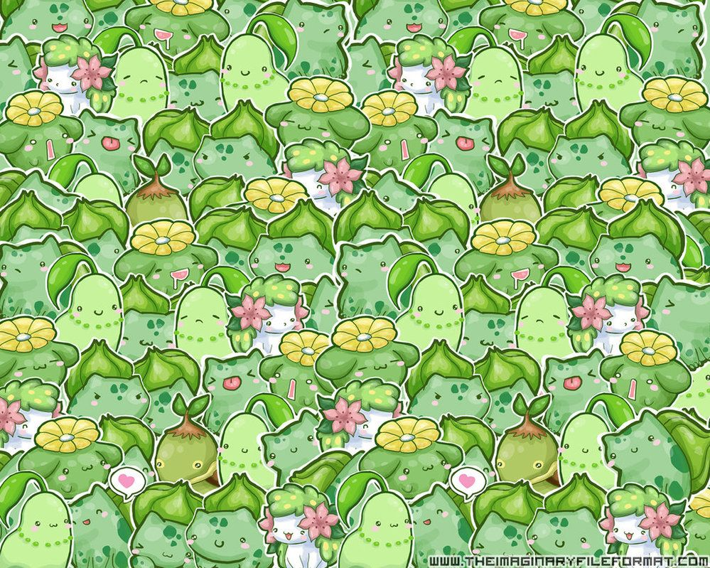 Grass Pokemon Wallpaper by PeterPanSyndrome on
