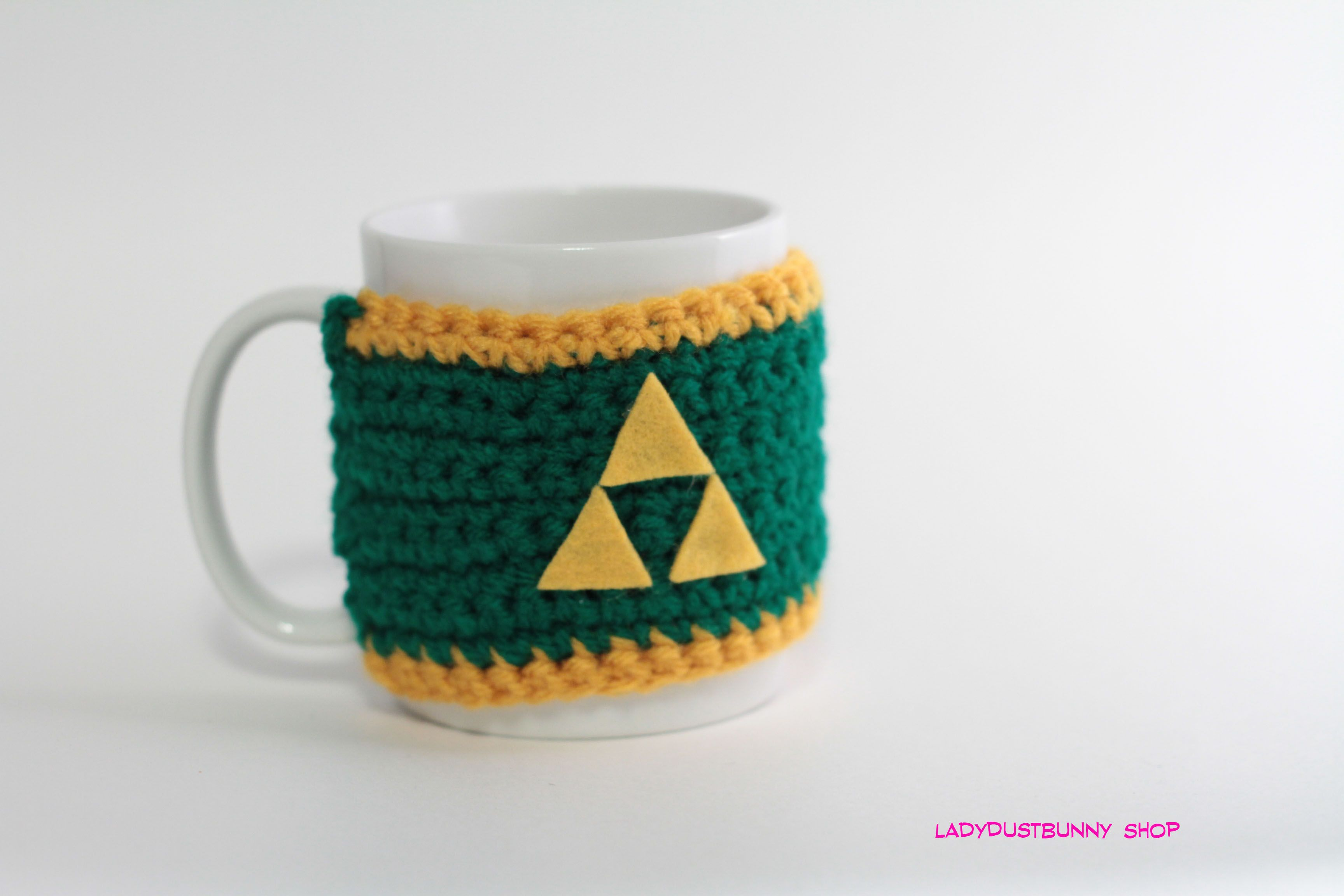 FREE crochet Mug Cozy Pattern - the basic model with tips for add ...