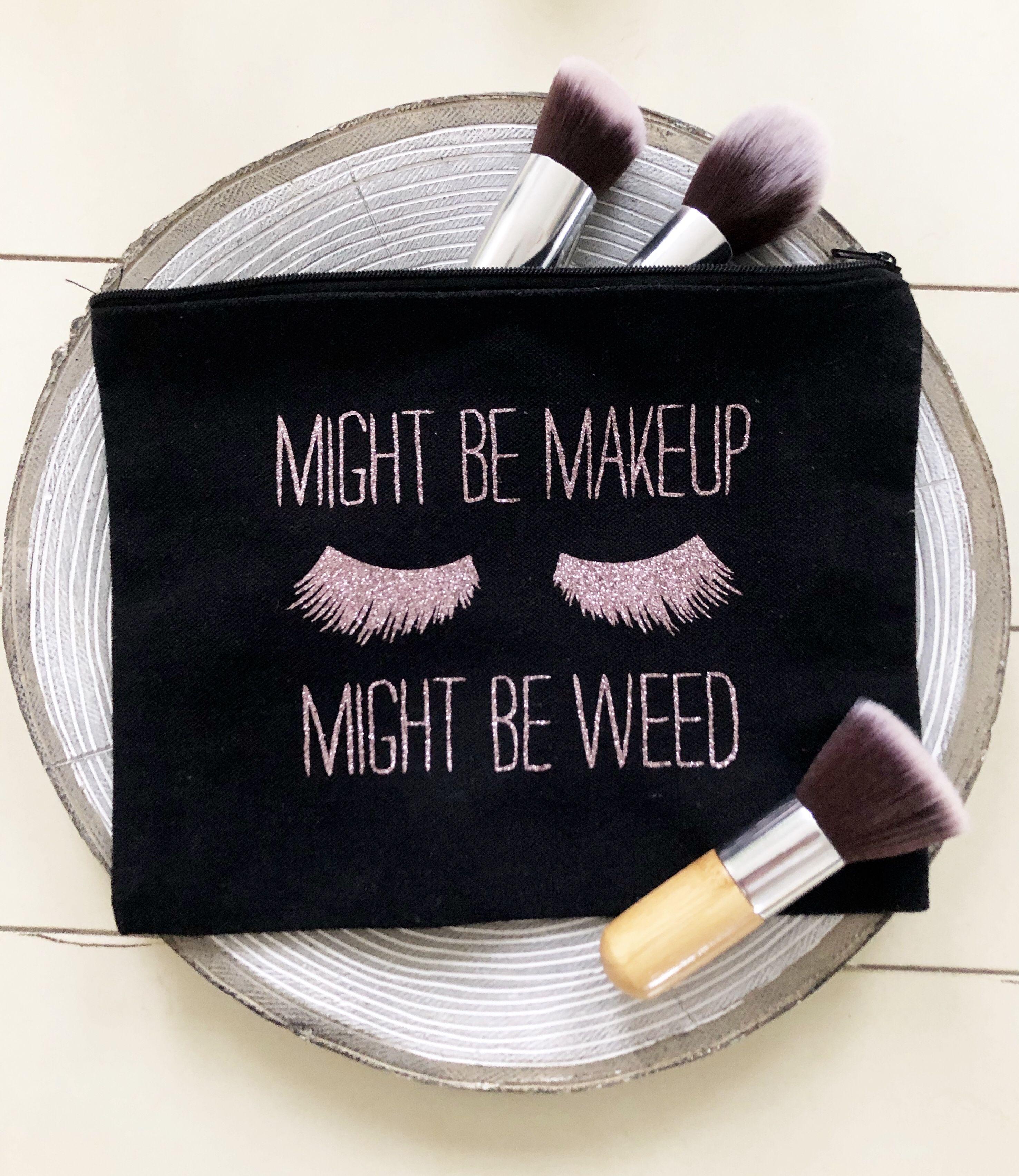 Makeup Bag Personalized Makeup Bag Make Up Bag Large