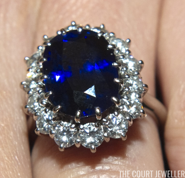 Kates Jewelry Box The Sapphire and Diamond Engagement Ring The