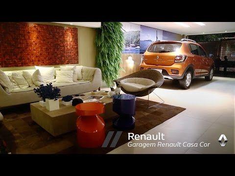 Renault   Garagem de Estar Renault Casa Cor 2016 - YouTube