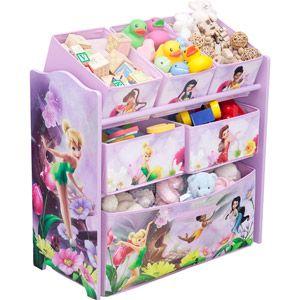 Disney Tinker Bell Fairies Multi Bin Toy Organizer 24 00