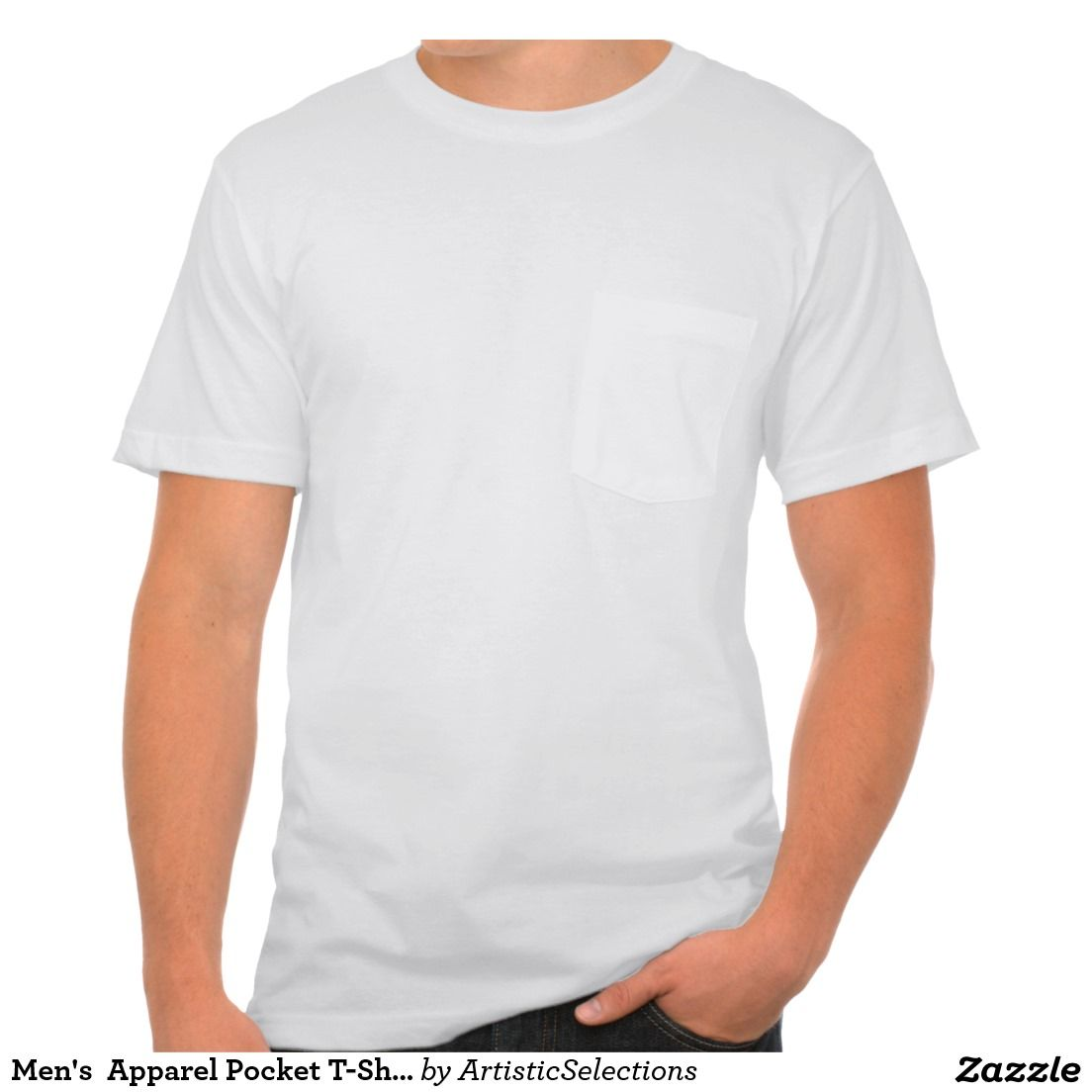 Pocket t shirt template photo realistic vector for Front pocket t shirt design