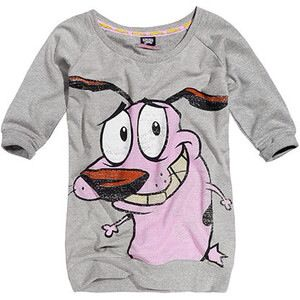 Courage the cowardly dog shirt