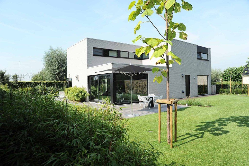Moderne onderhoudsvriendelijke tuin vereecke lieven
