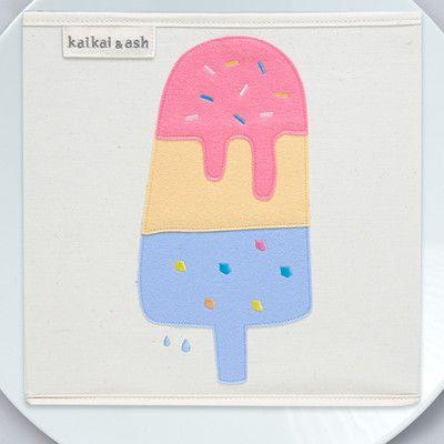 kaikai&ash Dessert Lemonade Canvas Storage Box