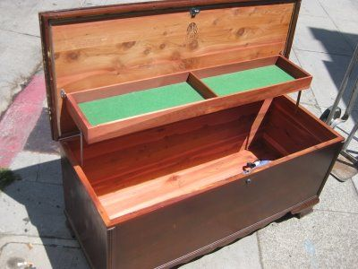 'Hope Chest' - probably not a term in use today!