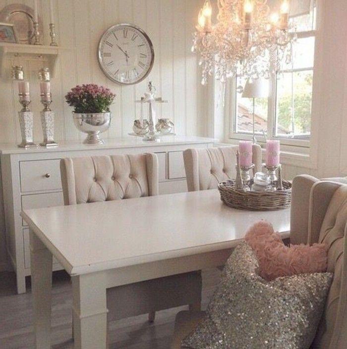 Les meubles shabby chic en 40 images d\'intérieur! | Shabby, Salon ...