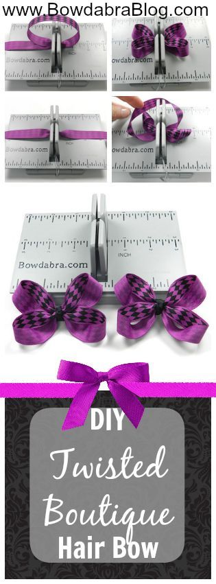 Twisted Boutique Hair Bow Bowdabra Tutorial #hairbows