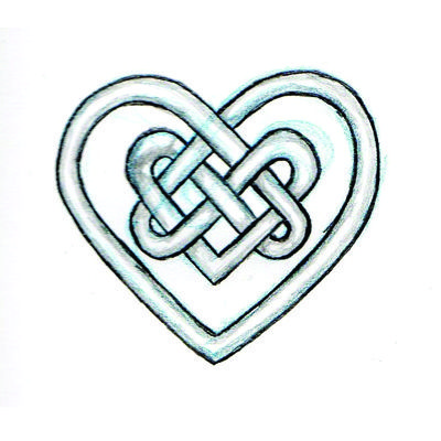 Celtic Heart Designs Clip Art Celtic Heart Knot Tattoo Celtic Heart Tattoo Irish Tattoos