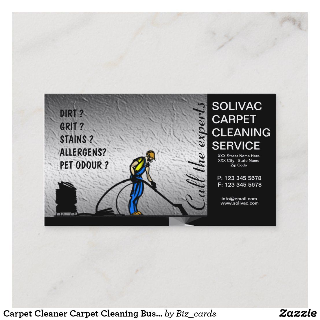 Carpet Cleaner Carpet Cleaning Business Card Zazzle Com Carpet Cleaning Business Cleaning Business Cards How To Clean Carpet