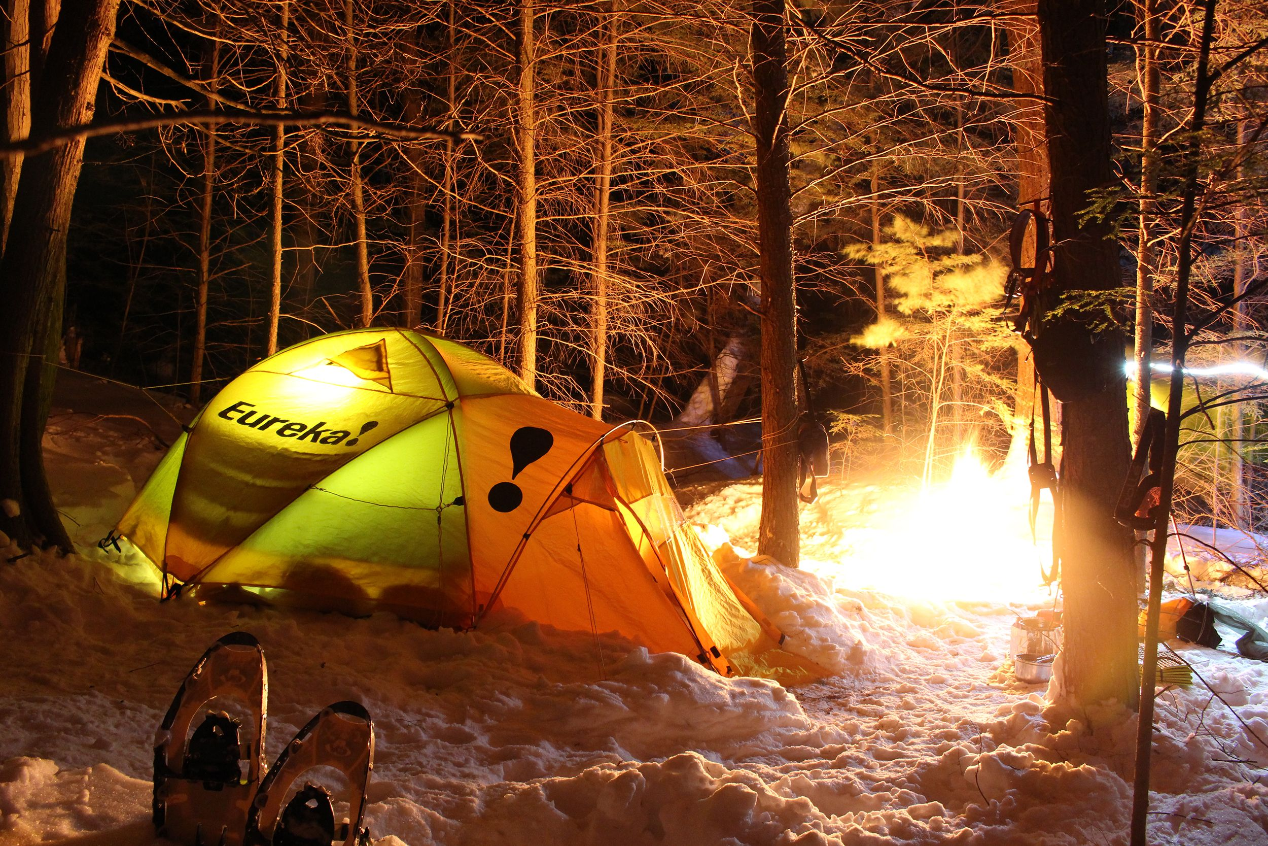 The Happy Camper: Cold Camping in a Four-Season Tent ...