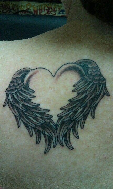 261d37788 Angel Wings ~~ Jud Ferguson at 7th Street Tattoo | Cool Tats ...