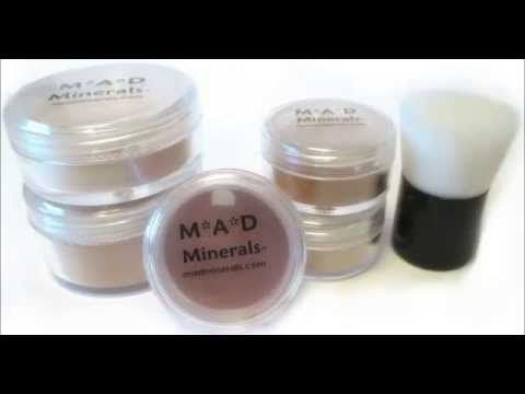 M*A*D Minerals Bare Earth Mineral Makeup For All Skin Types Including Se...