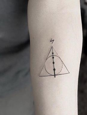 Tatuagem Harry Potter: 80 opções de tattoo para eternizar seu amor pela saga