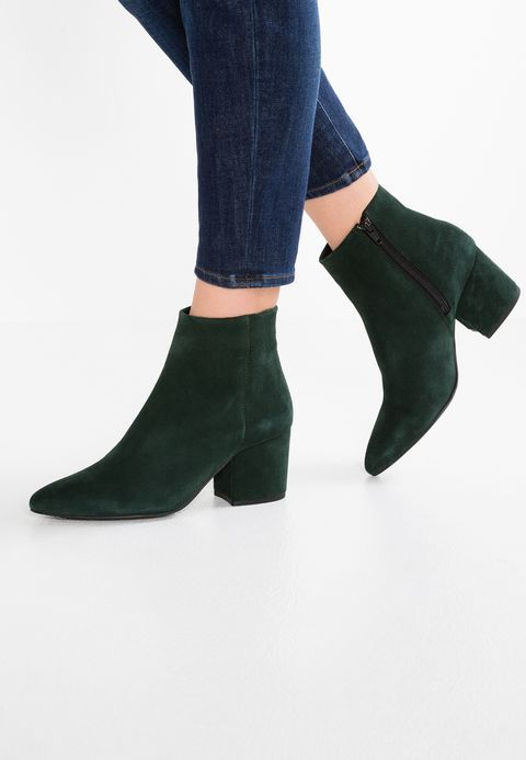 Vero Moda VMASTRID - Boots à talons vert foncé WV19fsQksU