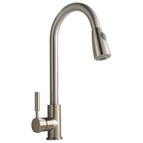 Best Commercial Stainless Steel Single Handle Pull Down Sprayer ...