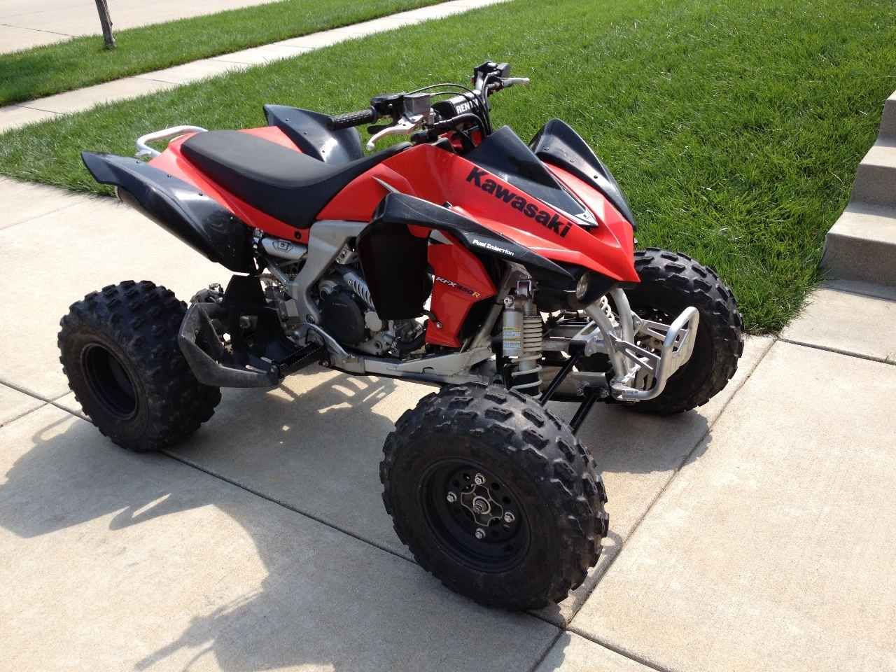 Used 2009 Kawasaki Kfx 450r Atvs For Sale In Nebraska 2009 Black Red Kawasaki Kfx450r In Great Condition Very Clean And Well M Atv Kawasaki Atv Four Wheelers