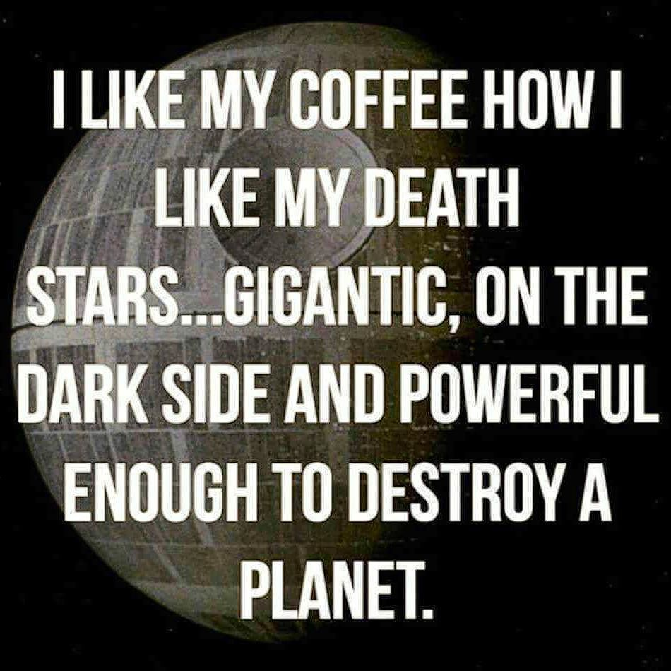 Happy Saturday! #coffee #saturday #foodiesarenerdstoo #geekhumor