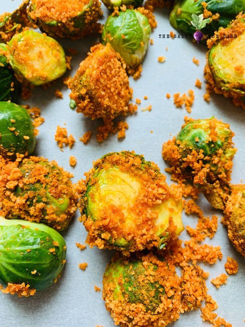 Crispy Buffalo Brussels Sprouts Recipe