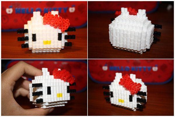 Perler Beads 3D Hello Kitty Kit