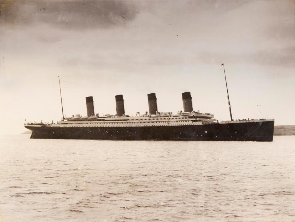 Titanic Was Sunk By FIRE Claims Journalist Investigating The Ill - How many mph does a cruise ship go