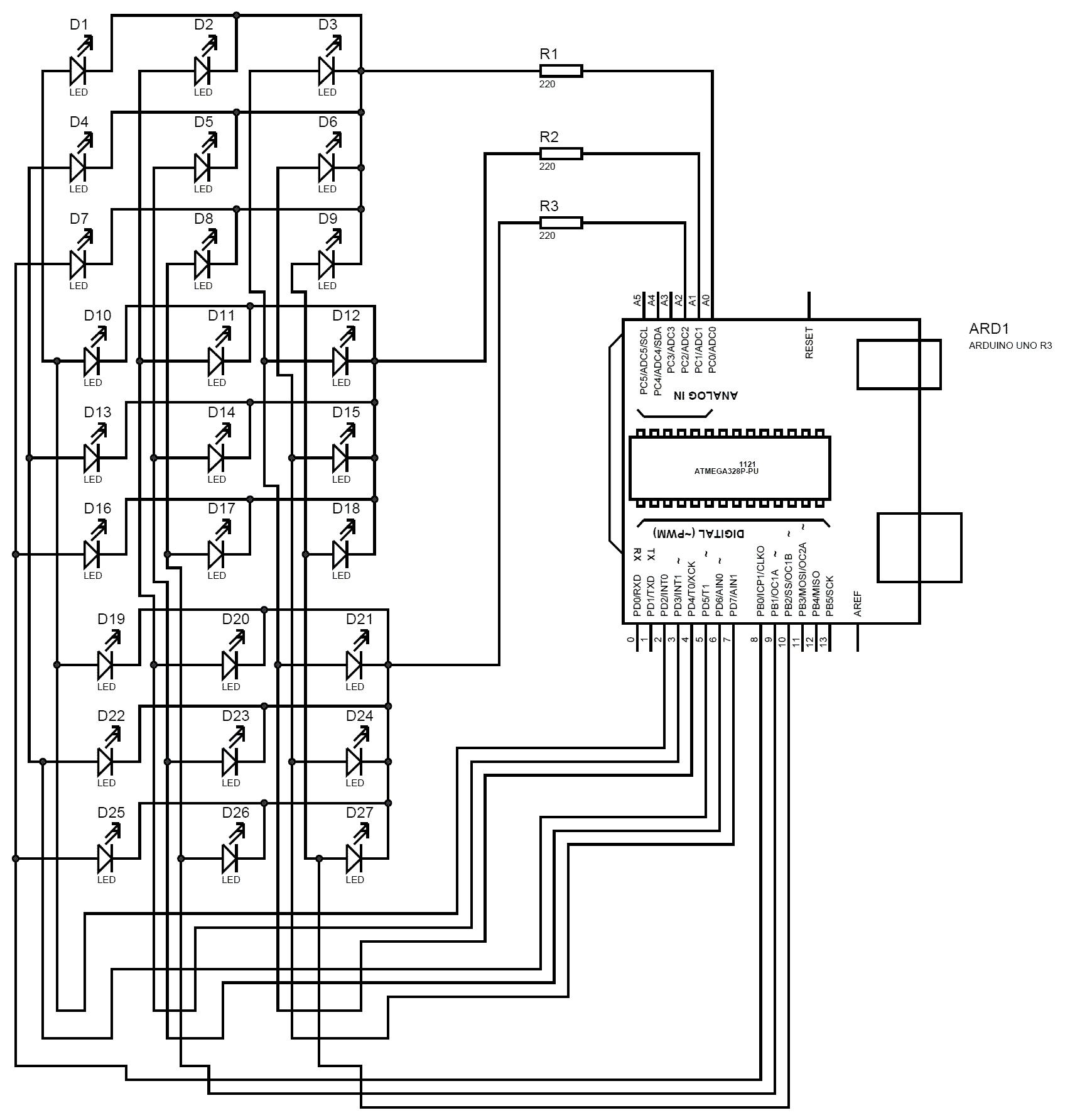 circuit diagram of arduino uno