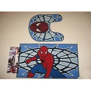 Spiderman Bathroom Set Spiderman Bath Mat 2pc Rug Set Home