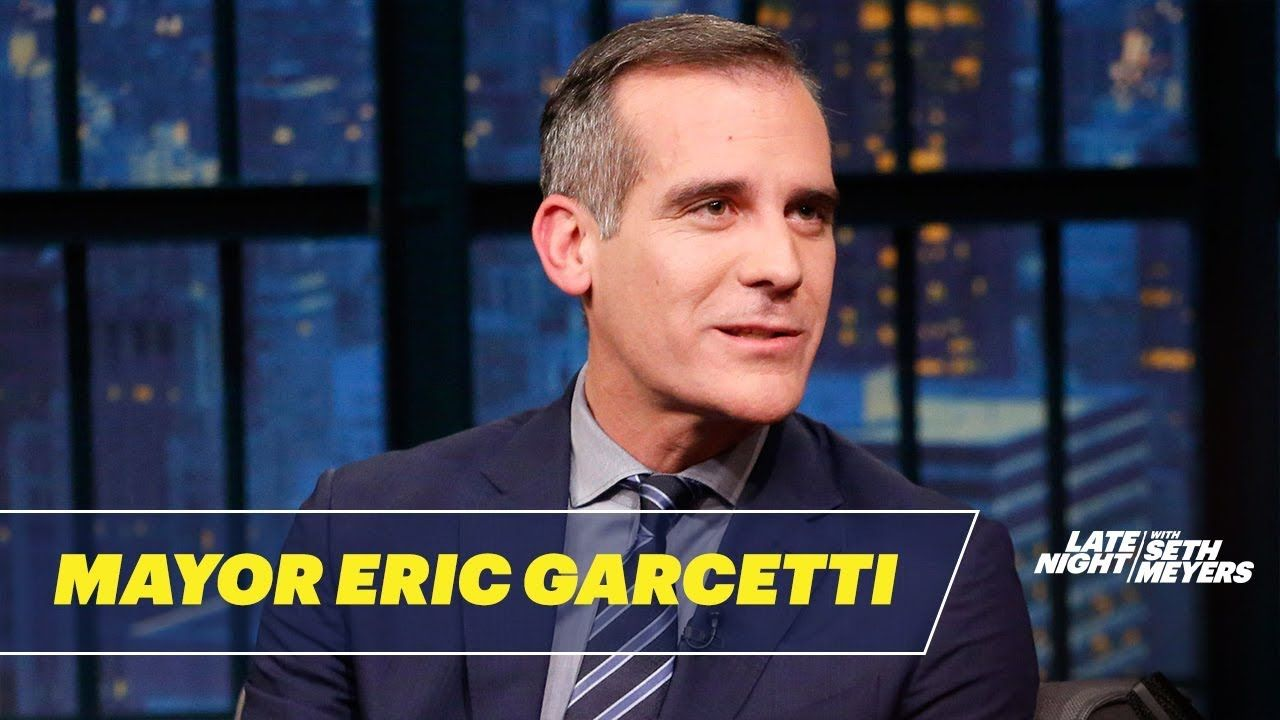 Mayor Eric Garcetti Responds To Criticism From The Right Eric Garcetti The Dreamers Youtube Videos