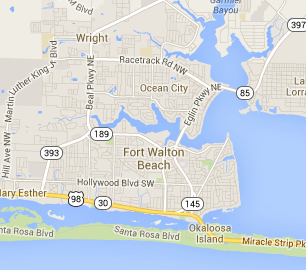 Map Of Destin Florida.Best Fort Walton Beach Gluten Free Friendly Restaurants Destin