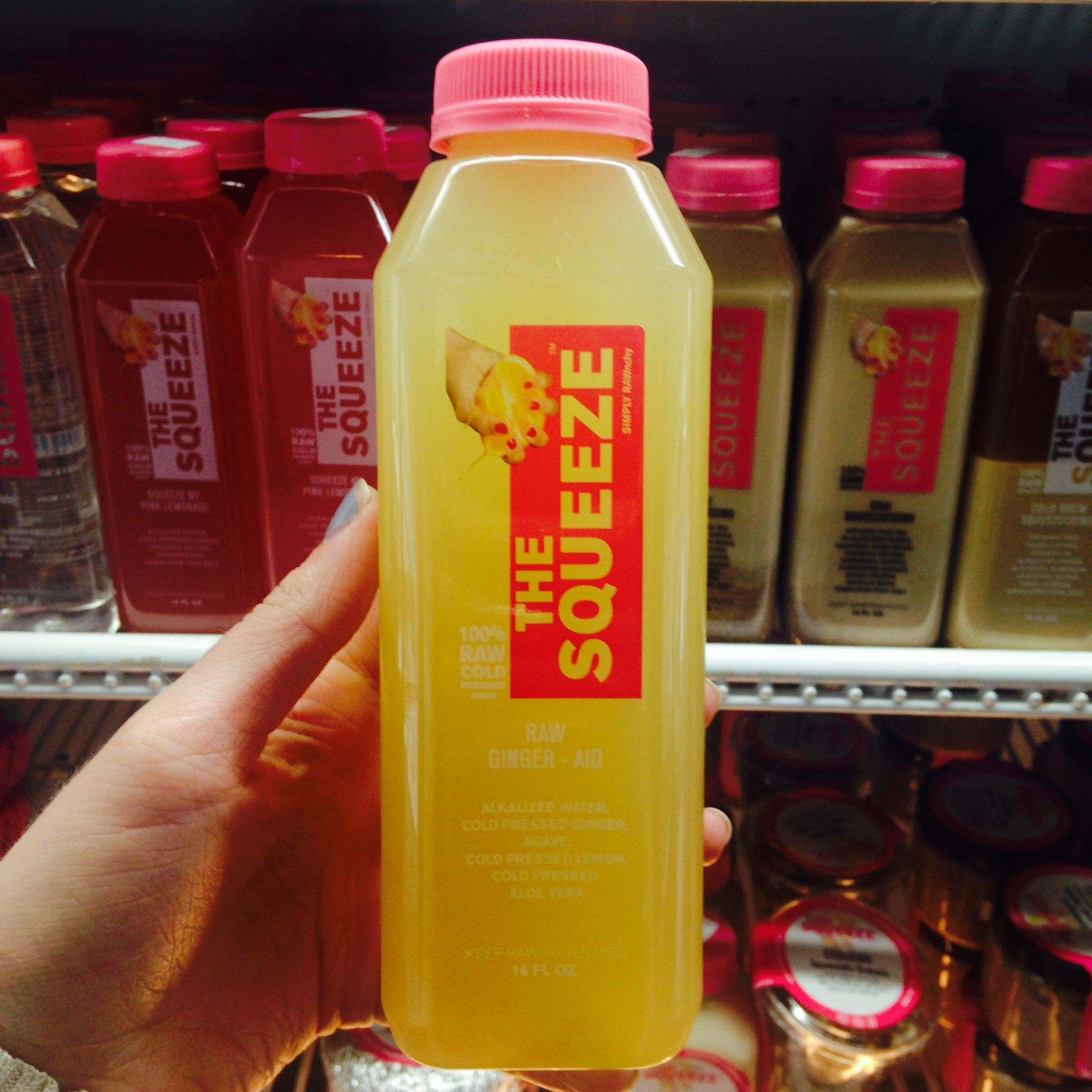 Raw Ginger-Aid - The Squeeze