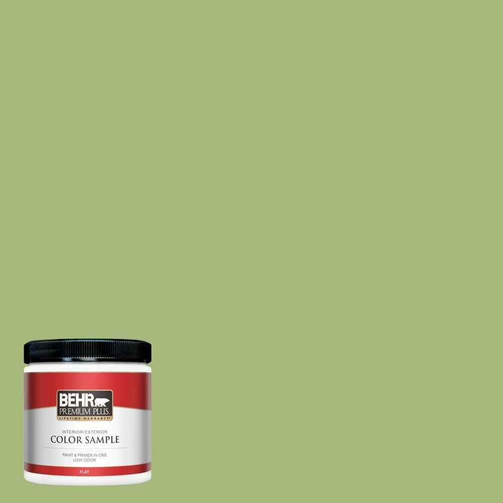 Behr Premium Plus 8 Oz P370 5 Lazy Caterpillar Flat Interior Exterior Paint And Primer In One Sample In 2020 Interior Paint Paint Primer Exterior Paint