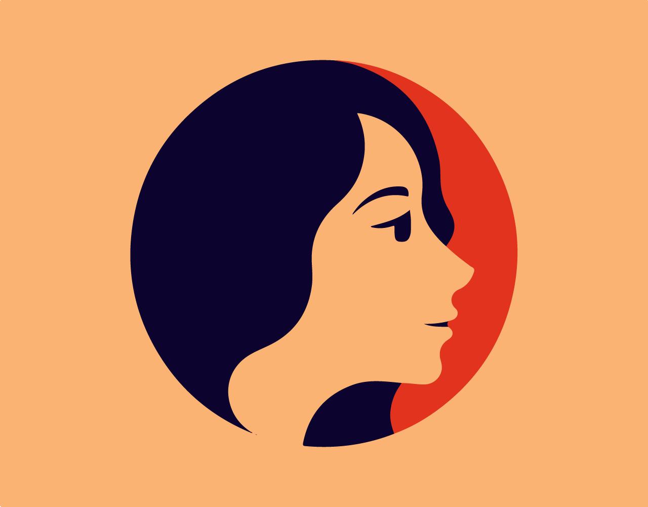 Beautiful Woman Face Vector Illustration Illustration Design Jewelry Logo Design Vector Illustration