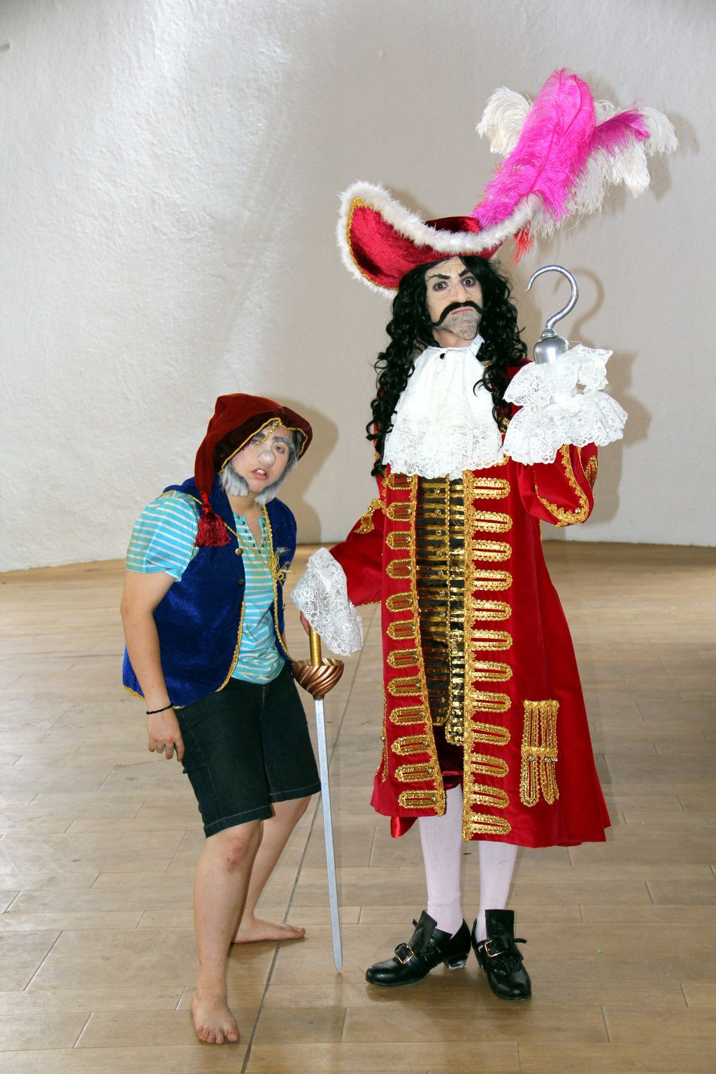 Captain Hook Costume And Makeup Jooskellington