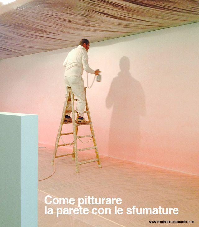 Pitture sfumate pittore.