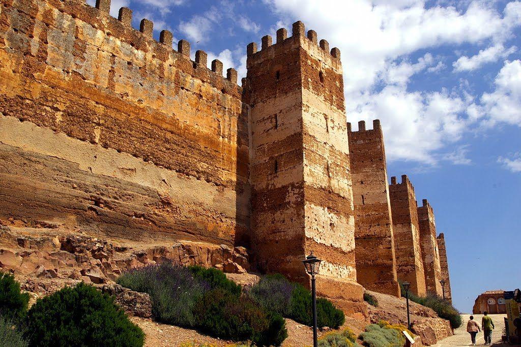 Castillo De Burgalimar Banos De La Encina Jaen Andalucia