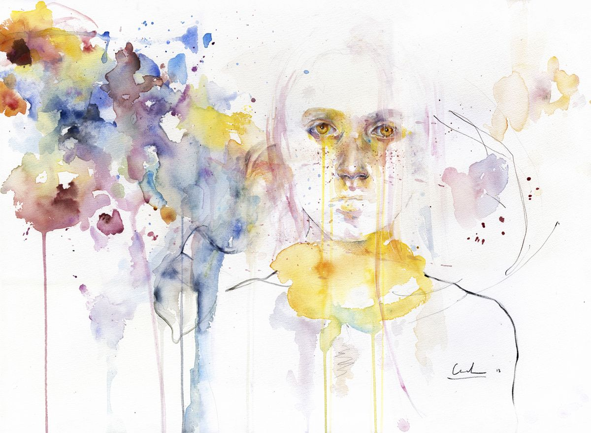 Agnes Cecile   art, watercolor