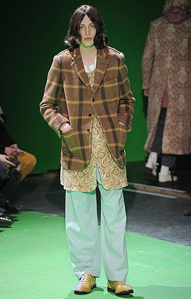 FM London: PFW AW13 Menswear Day 3: Highlights - Erik Andersson for Comme des Garcon Homme Plus
