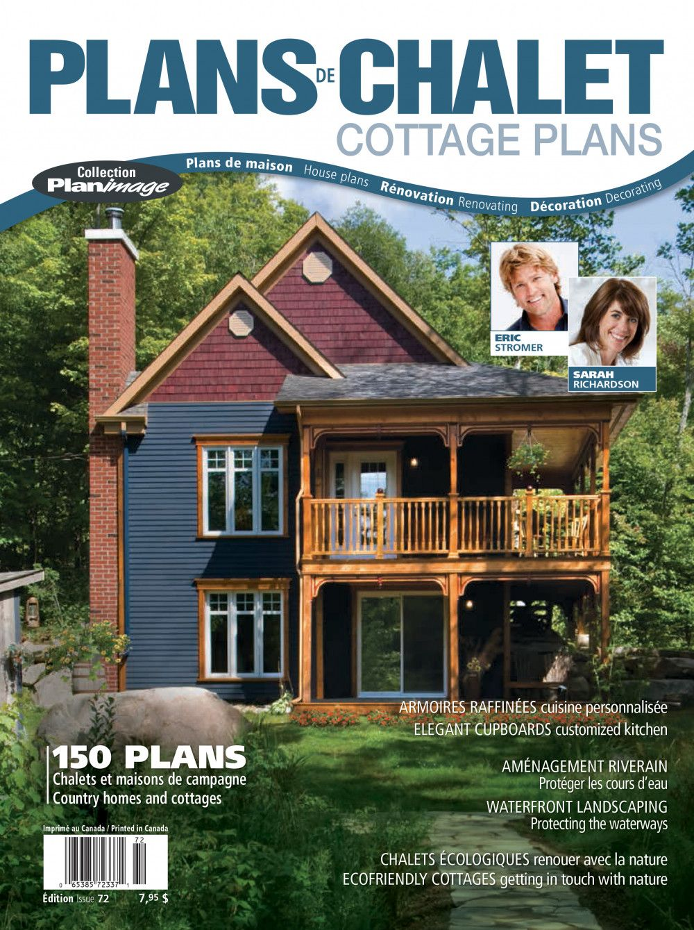 Planimage Is Celebrating It 15th Anniversary With A Brand New Magazine Dedicated To Cottages And Life I In 2020 Waterfront Property Architectural Services Cottage Plan