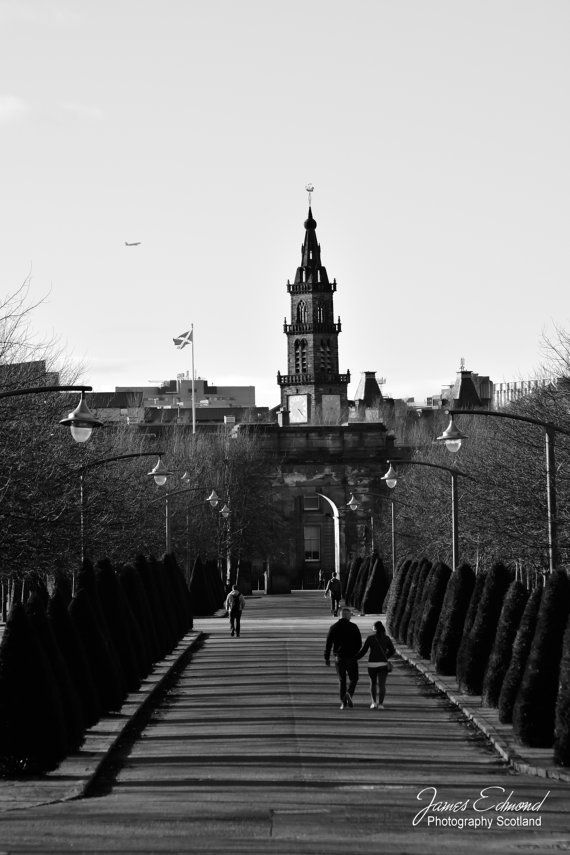 Glasgow glasgow photography nature photography black and white scotland scottish