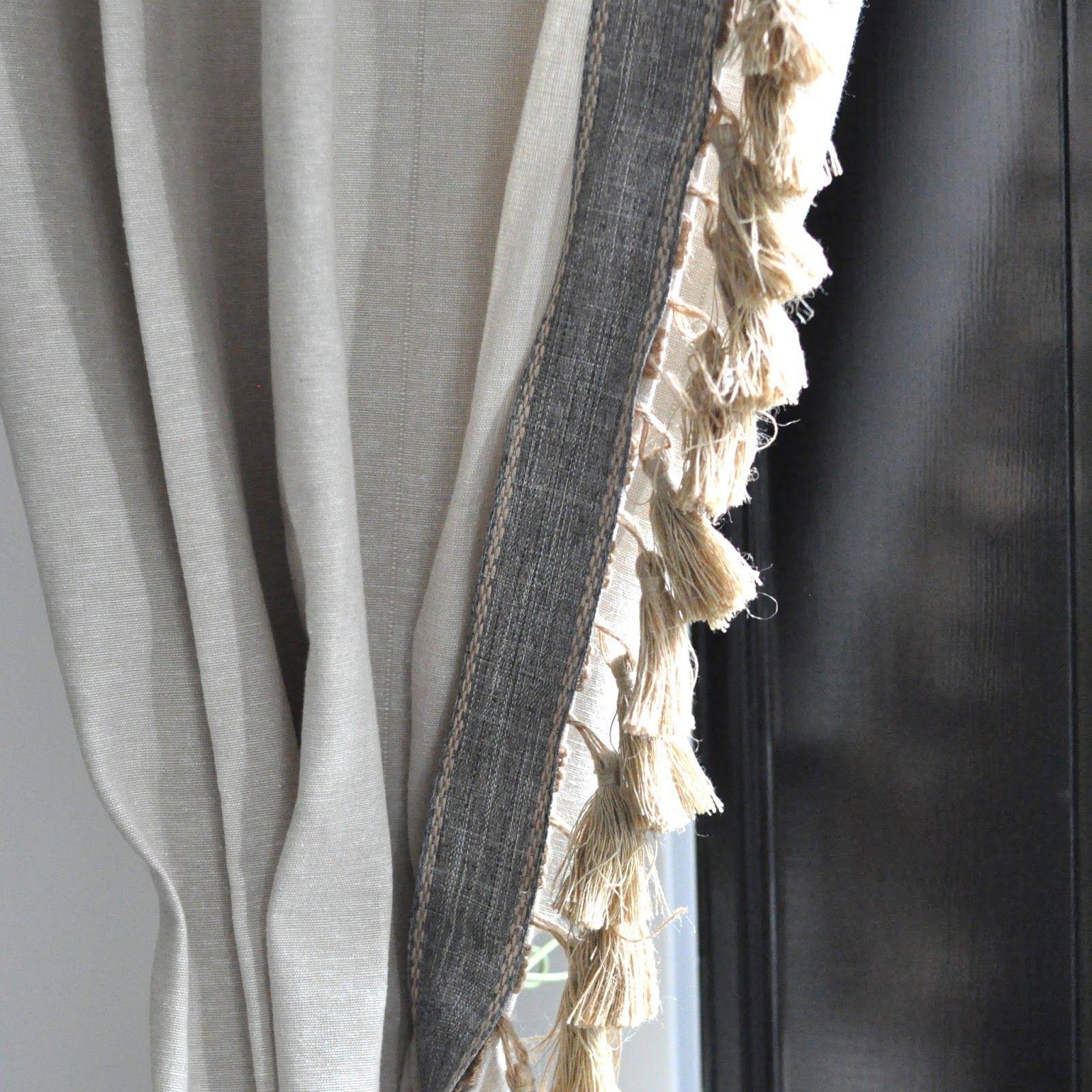 10 Creative Ways To Make Ikea Curtains Super Stylish Tassel
