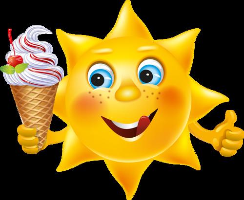 Sol Lua Nuvem E Etc Imagens Divertidas Emoji Engracado Bom Dia Ensolarado