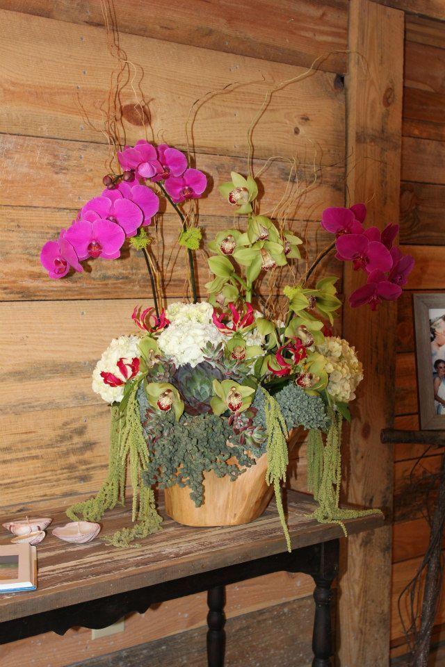 Flower Arranging: Le Petit Jardin/ Madison Georgia/ Tropical Wedding ...
