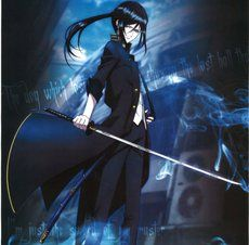 Anime Guy With Sword And Black Hair Anime Guy With Black Hair And Sword Hair Black Dog Sword K Project Anime K Project Anime Guys