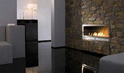 Brick Wall Fireplace Design Via Www Trendsi Com Wall Mounted
